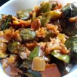 Brinjal Tomato Curry Andhra Vankaya Tomato | Eggplant Tomato Masala