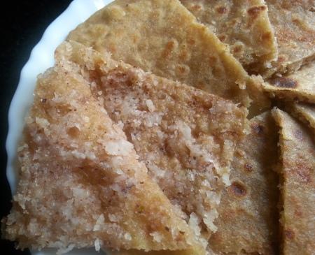 Kobbari Paratha Recipe