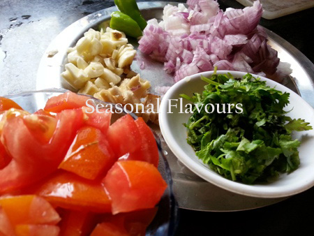 Ingredients for Makhni Dal Recipe