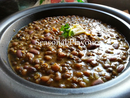 Punjabi Black Dal Recipe