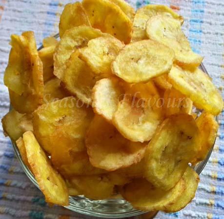 Aratikaya Chips Recipe