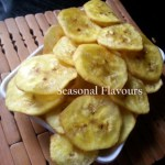 Plantain Chips Kerala Crunchy Kaya Varuthathu | Onam Ethakka Upperi