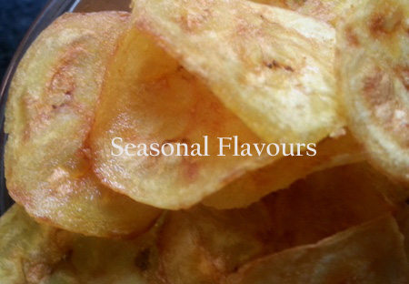 Kerala Chips Fried in Coconut Oil