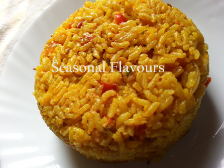 Tomato Masala Rice Indian Recipe