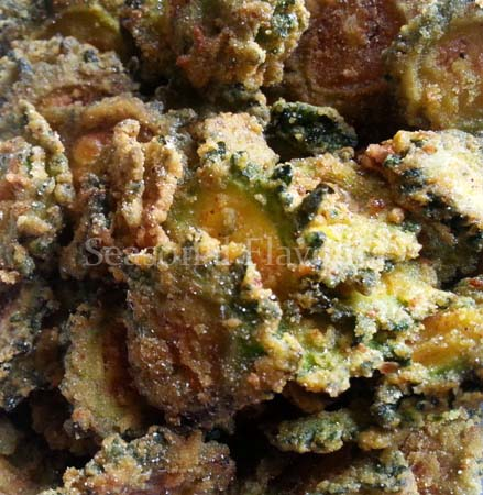 Seasoned And Crunchy Bitter Gourd Chips Recipe
