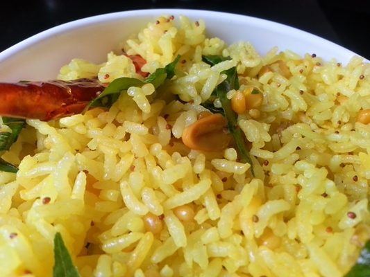 Nimakayya Pulihora Recipe