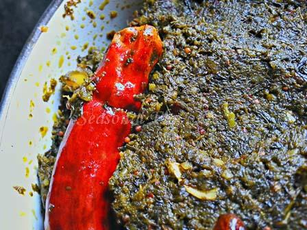 Andhra Special Gongura Chatni recipe