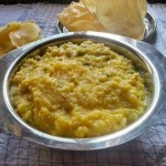 Bhaja muger dal Khichuri Recipe
