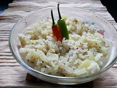 Chal Kumro Torkari Bengali Recipe