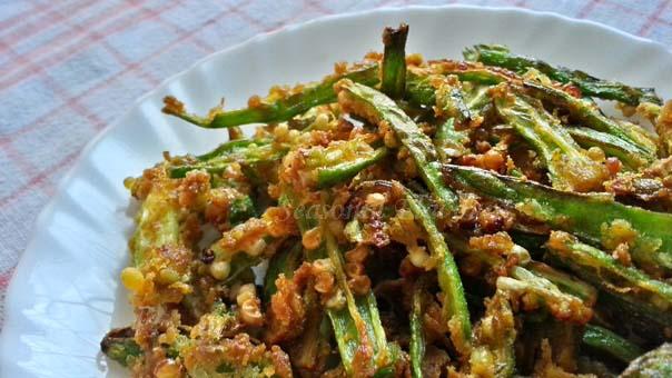 Kurkuri Bhindi Punjabi Recipe