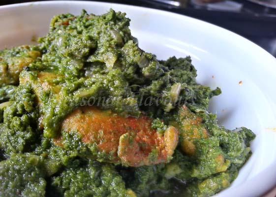 Dhonepata bata diye Maach recipe