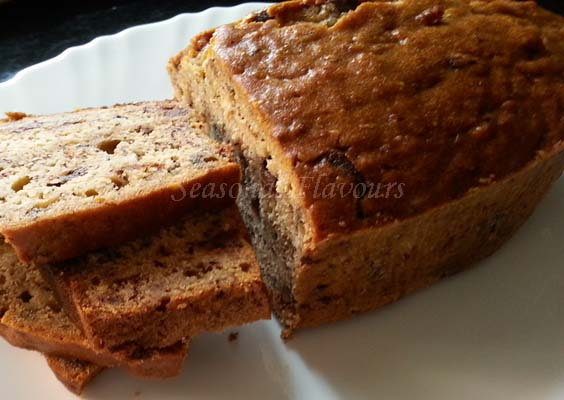 Banana loaf bread recipe
