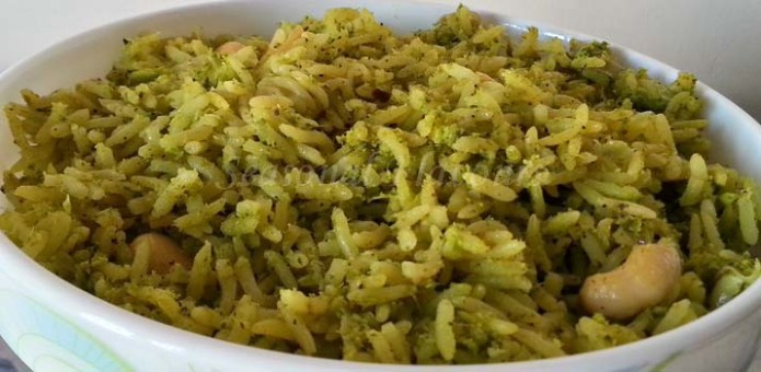 Coriander Rice Andhra Recipe