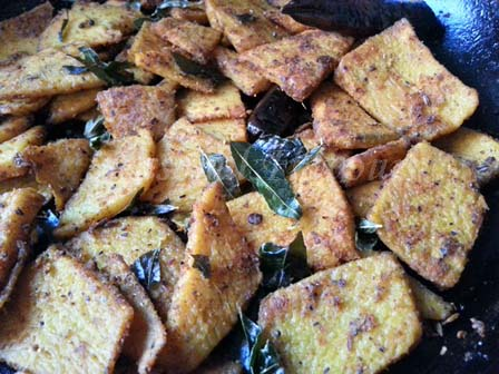 Karunai Kizhangu Varuval Recipe