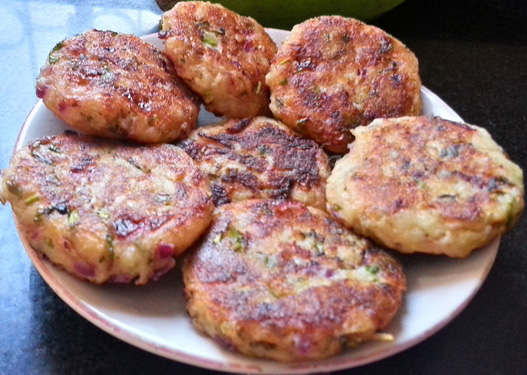 Cutlet with plantains recipe