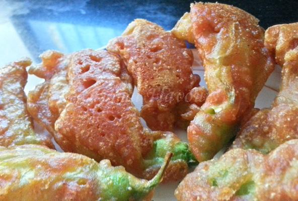 Bok Phool Bhaja Recipe