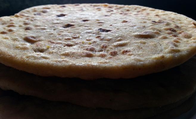 Sattu Stuffed Paratha Recipe