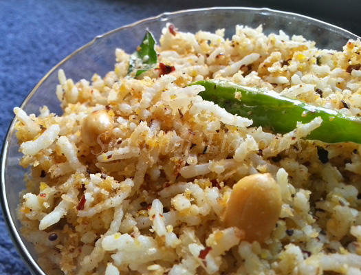 Sesame Seeds Rice Recipe