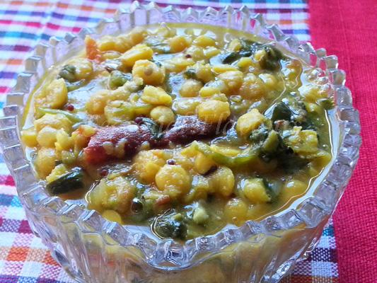 Andhra Palakura Pappu recipe