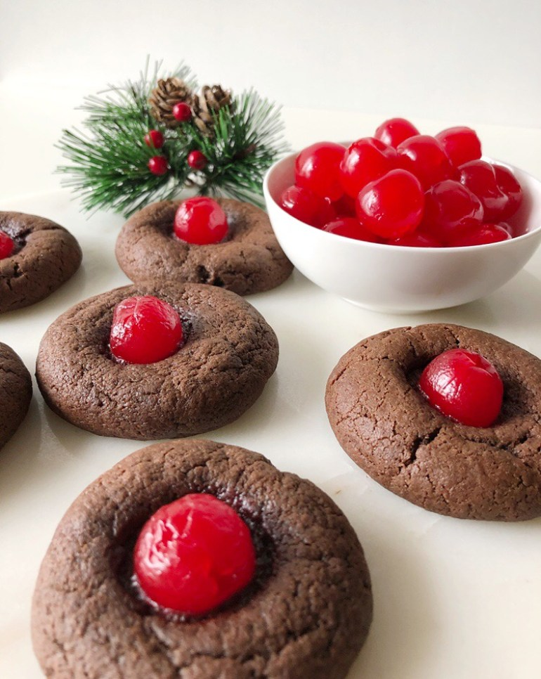 Chocolate Rudolph Cookies