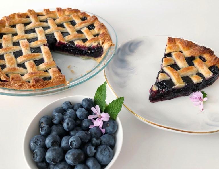 BC Blueberry Pie