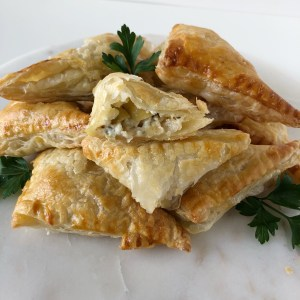 Artichoke and Asiago Turnovers