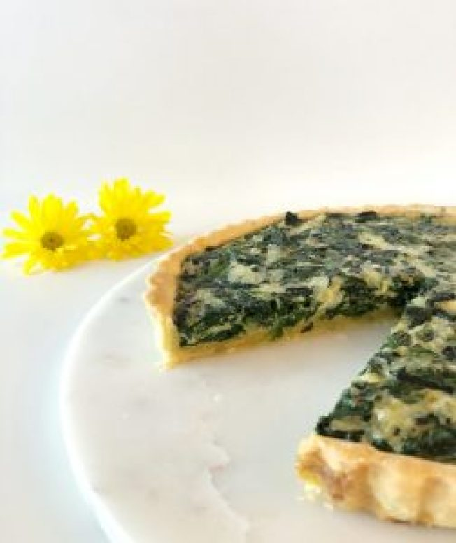 Quiche Florentine - Season and Serve Blog