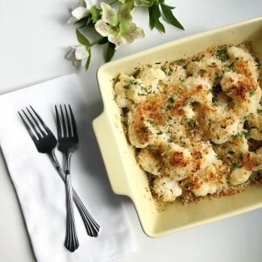 Cauliflower Gratin - Season & Serve Blog