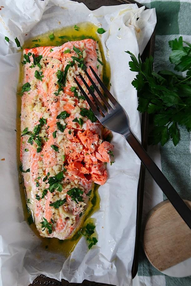 Garlic Butter Salmon | Season & Serve Blog