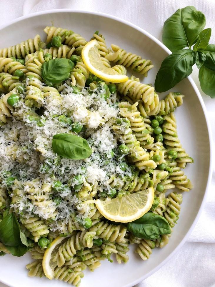 Pea and Pesto Pasta - Season & Serve Blog