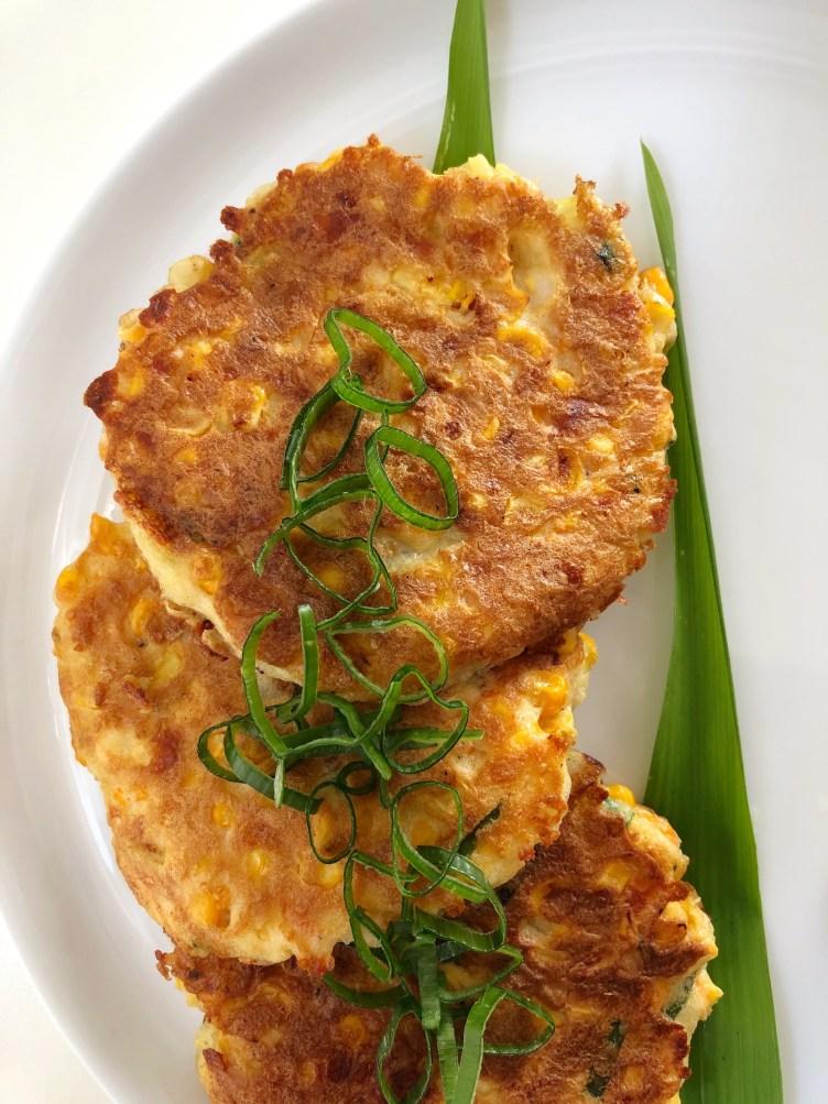 Corn Cheese Fritters - Season & Serve Blog