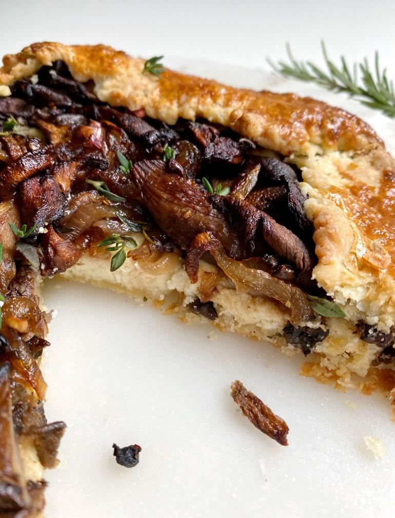 West Coast Mushroom Galette - Season & Serve Blog