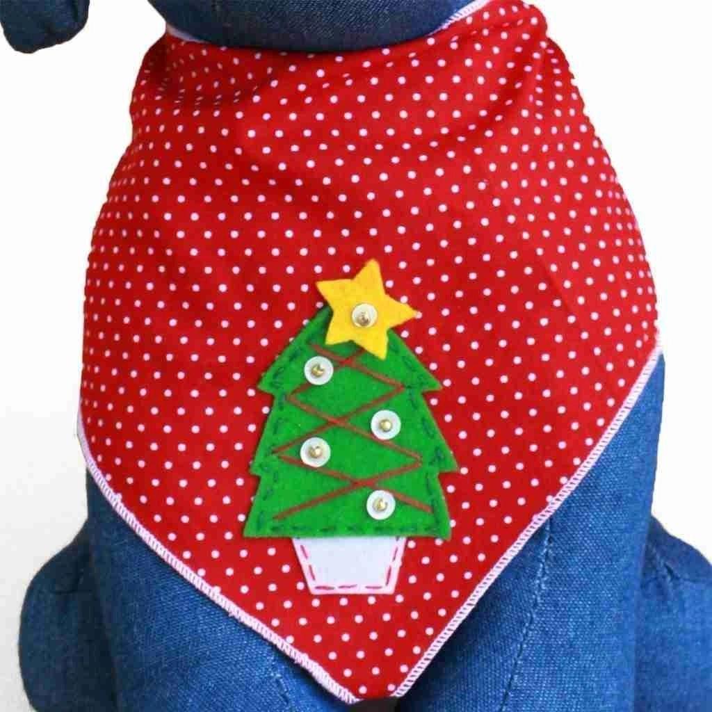 Fun Christmas Bandanas For Dogs Holiday Dcor Season Charm