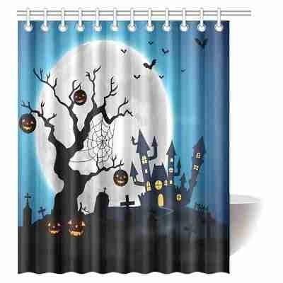 16 spooky halloween haunted graveyard