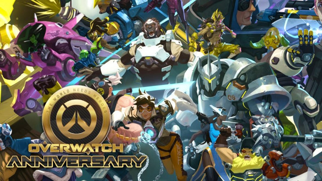 Overwatch Anniversary Event Now Live!
