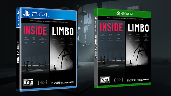 Limbo and Inside Getting a Physical Release