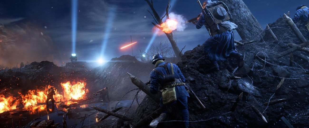 Battlefield 1 : Nivelle Nights Update is Live