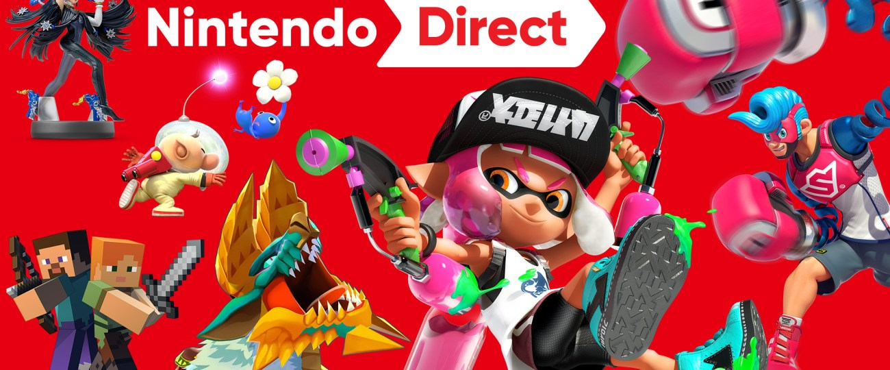 Nintendo Direct : Splatoon 2 Overview July 6th
