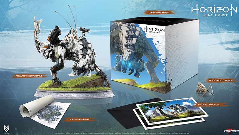 Unboxing : Horizon Zero Dawn Thunderjaw Collection (and Collector's Edition Comparison)