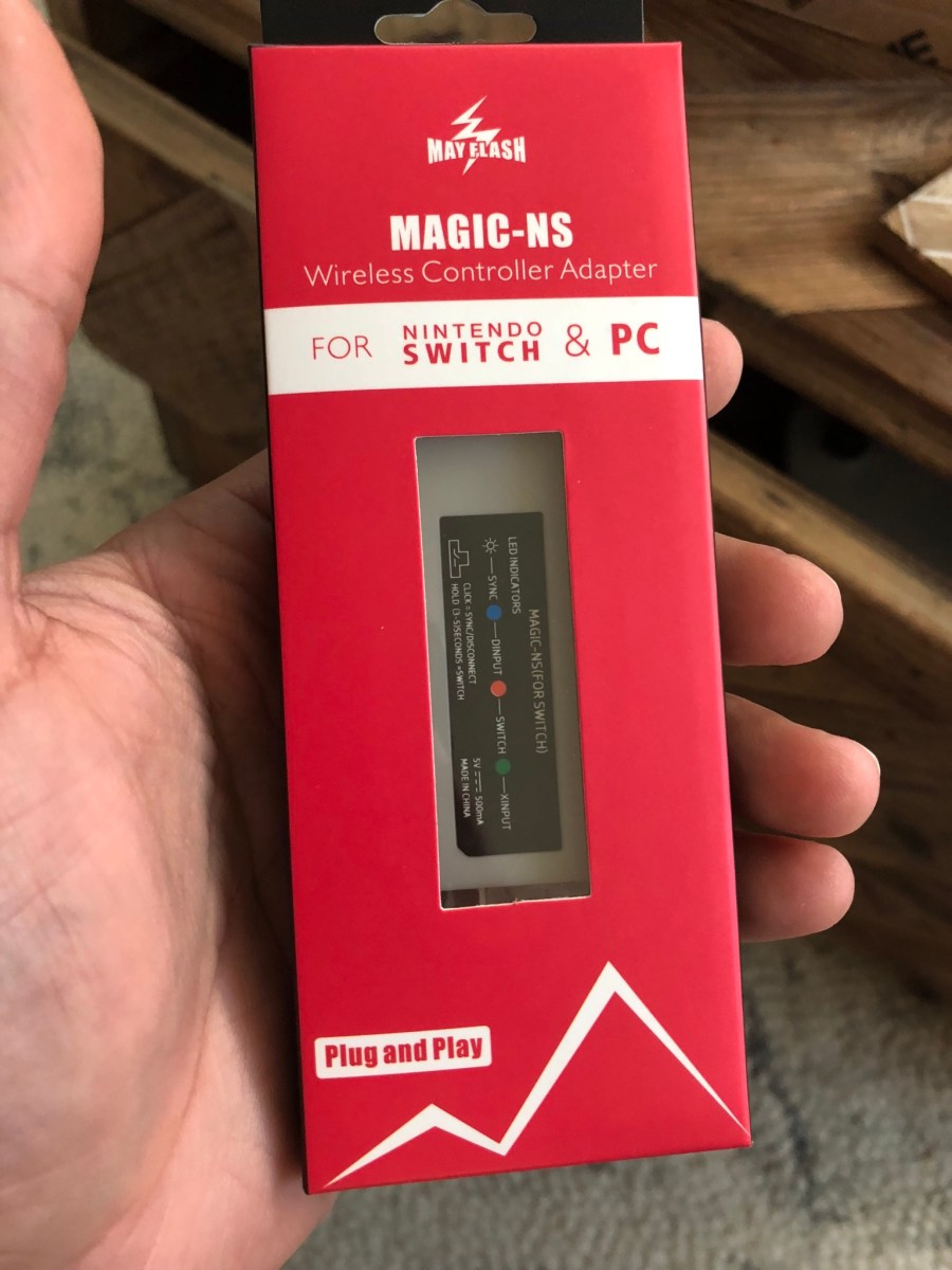 Unboxing : MayFlash Magic-NS (Switch Wireless Controller Options)