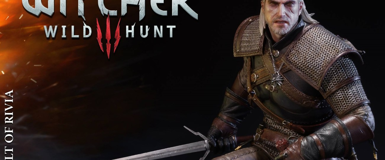 Review : Prime 1 Studio Geralt of Rivia Statue from The Witcher 3 Wild Hunt