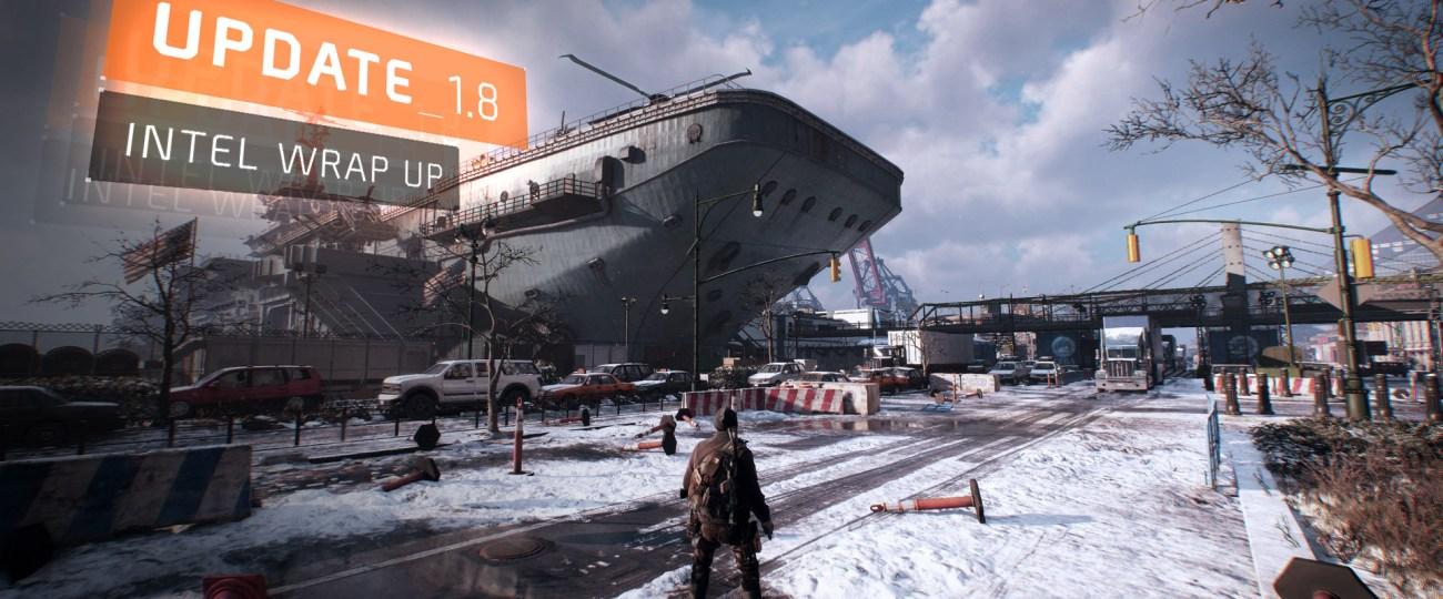 The Division : Update 1.8 and Free Play Weekend