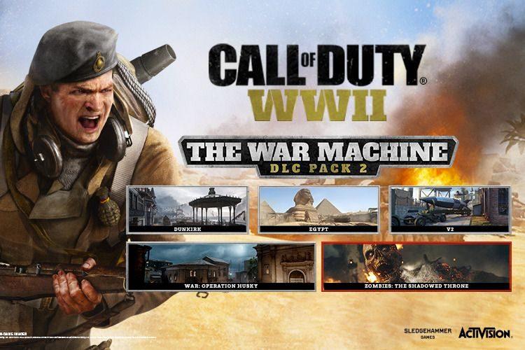 Call of Duty WW2 : The War Machine DLC Trailer and Info
