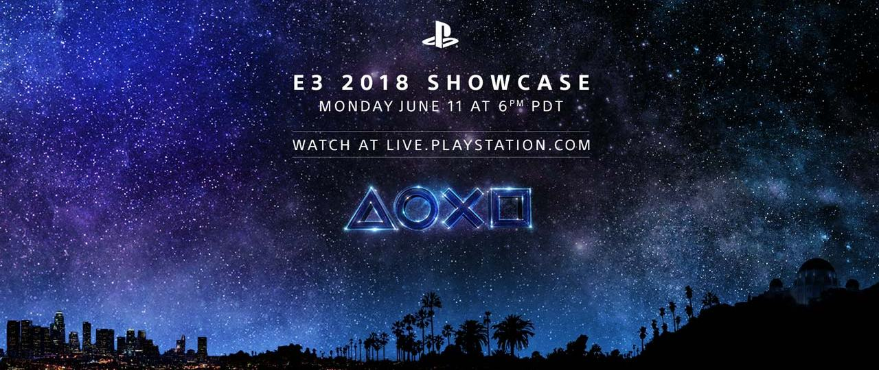 Sony Announces their E3 Showcase Time and Date