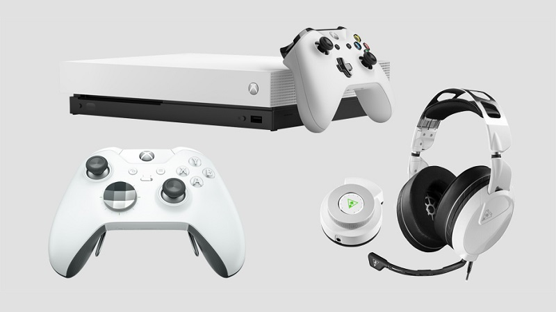 Microsoft Announces White Editions of the Xbox One X and Elite Controller