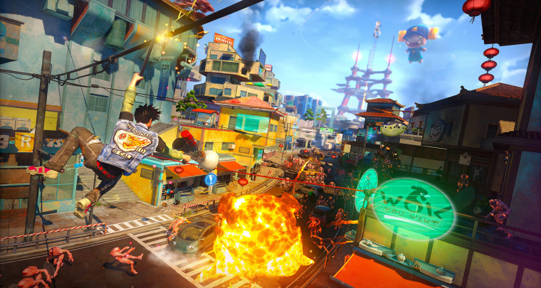 Sunset Overdrive Launches on PC this Week