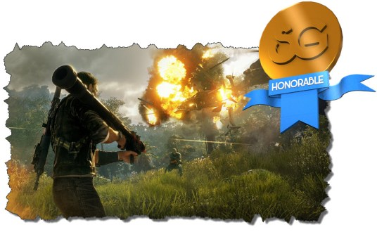 Just cause 4ReviewMedal