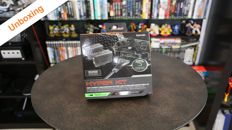 Unboxing : Bionik Hyper Kit