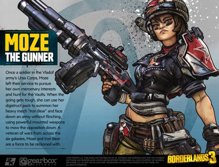 Borderlands 3 Cosplay Guide Offers Details and Character Profiles of