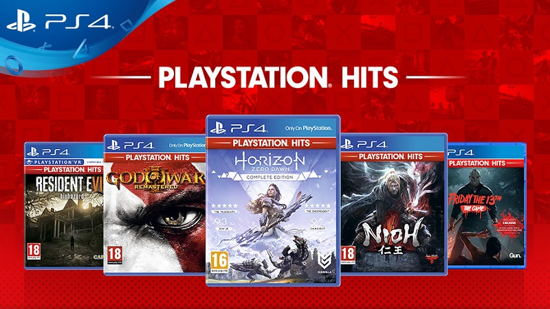 Sony Announces New Additions to the PlayStation Hits Lineup